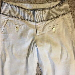 Idra Wide Leg Linen Trousers